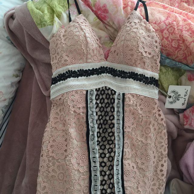 Angel Biba Lace Dress Size 8