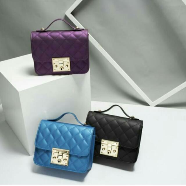 Avril Bag Jims Honey...warna Biru Dan Purple