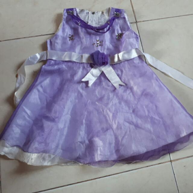 Baju Pesta Anak 3 & 4thn #mothercaresale