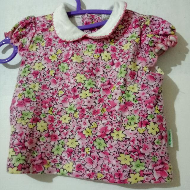 Banana Flowery Top