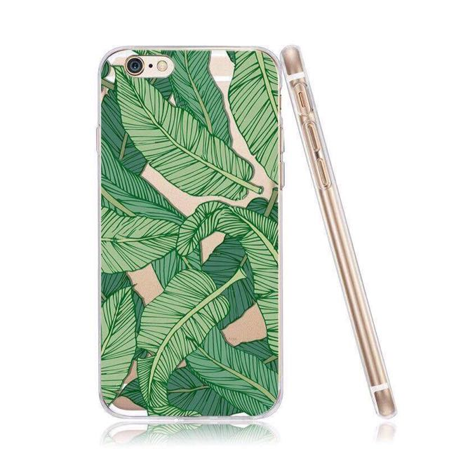 Banana Leaf Case For Iphone 6 & 7