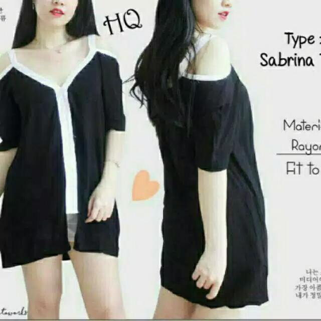 Blouse HS, OT-SABRINA TOP List white