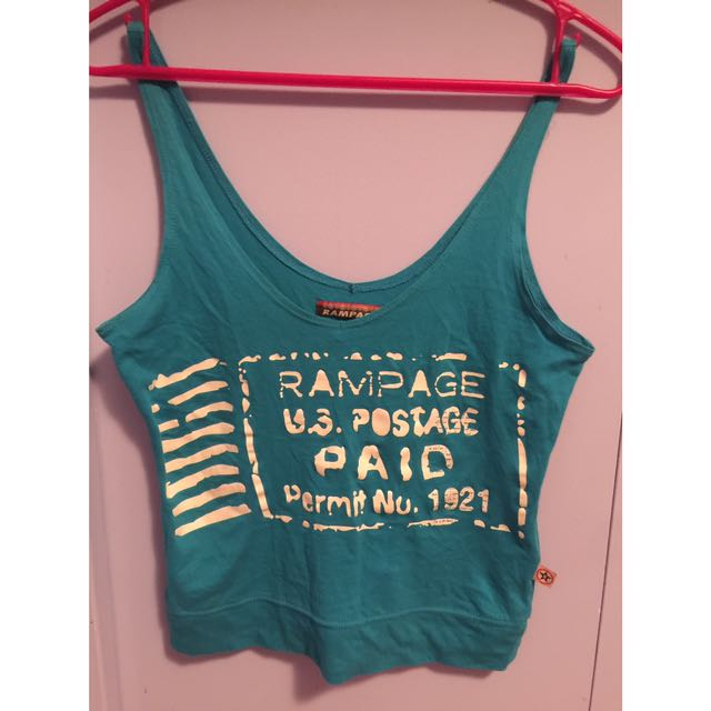 Blue Rampage Top