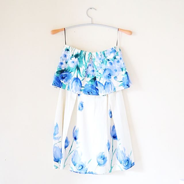 Blue Tulip Minidress