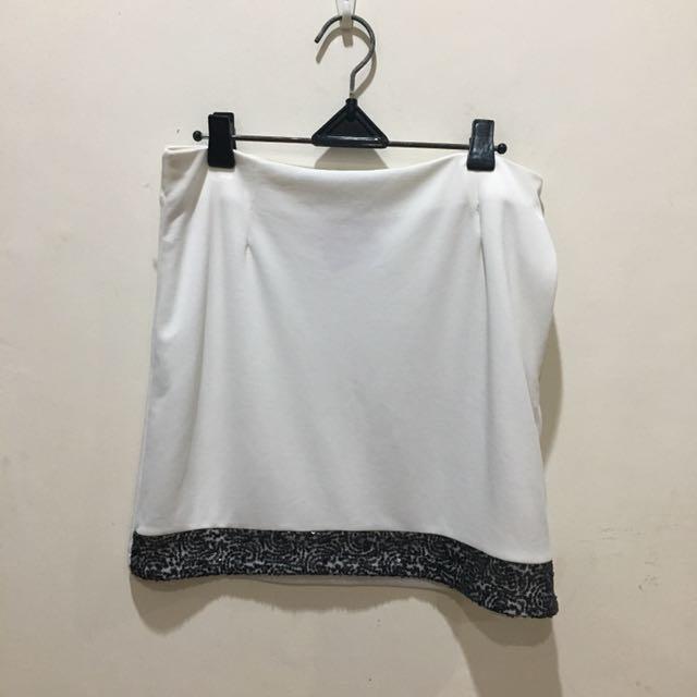 Body & Soul White Skirt
