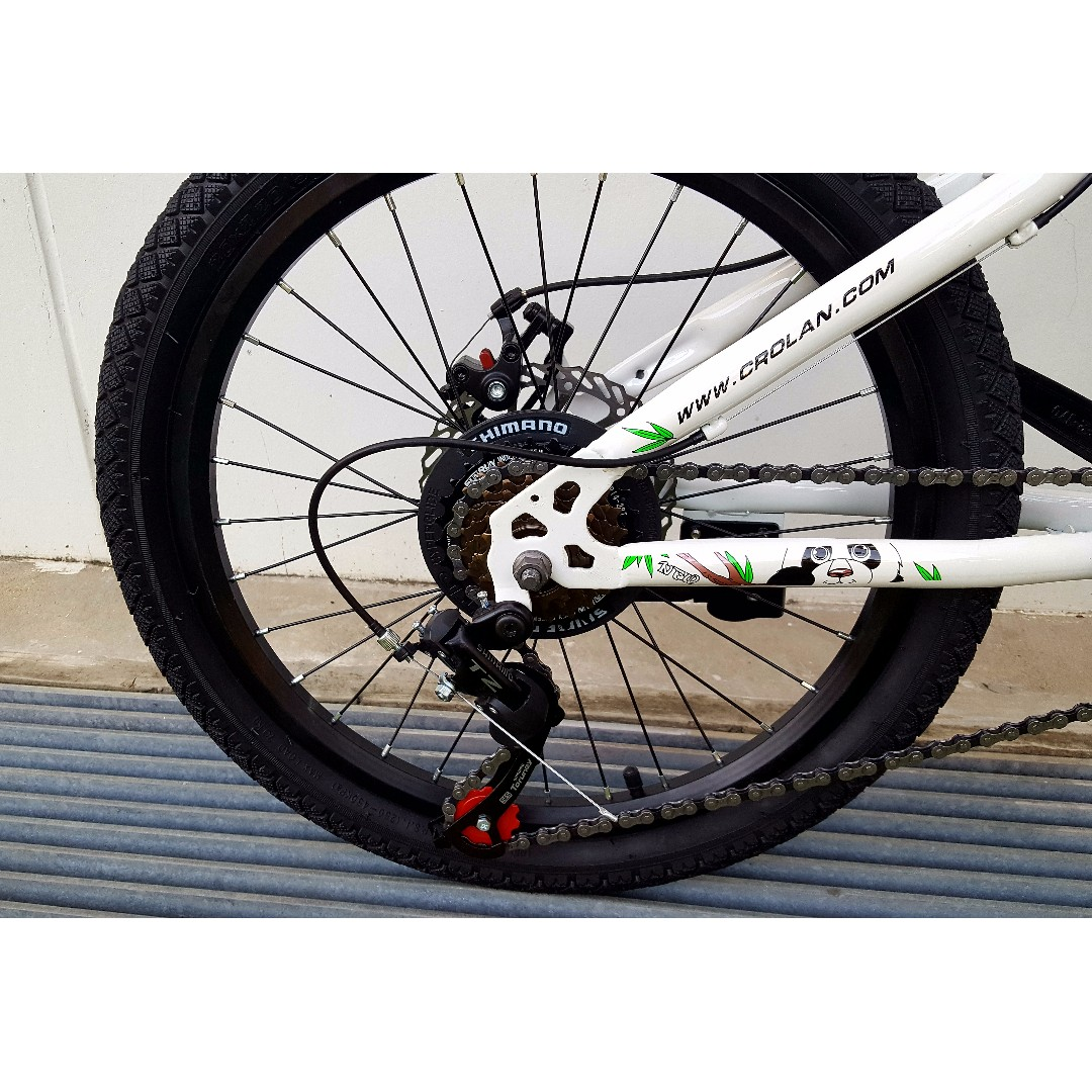 Brand New 20 Inch Mtb Kids Bike Bicycle With Disc Brakes And