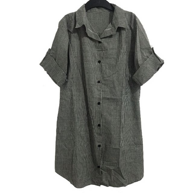 BRAND NEW❗️Gray shirt dress