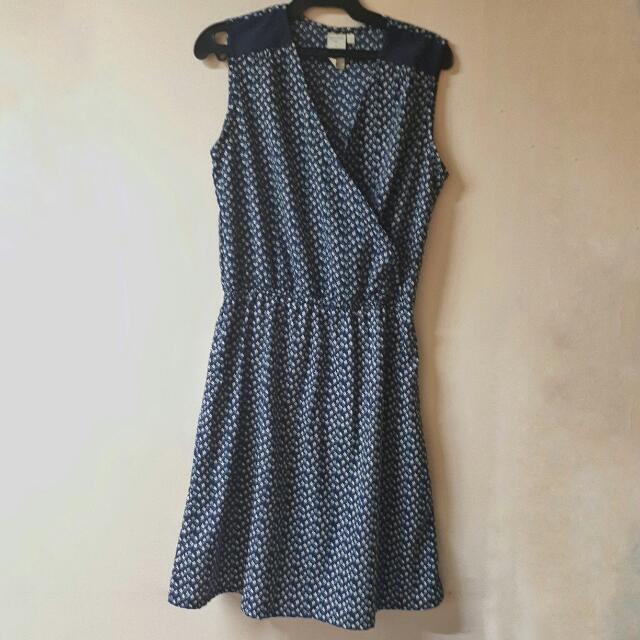 Branded Blue Dress