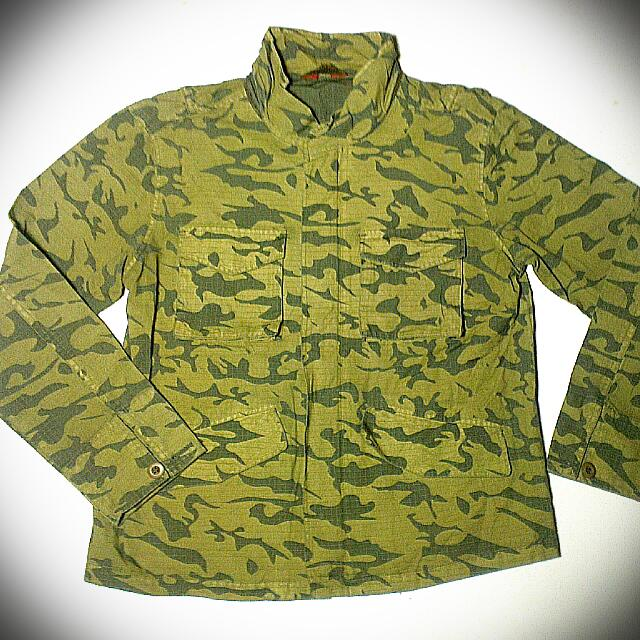 Camouflage Jacket By Sky Bomber