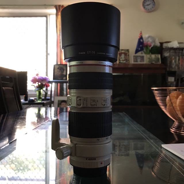 Canon 70-20mm F/4 IS USM