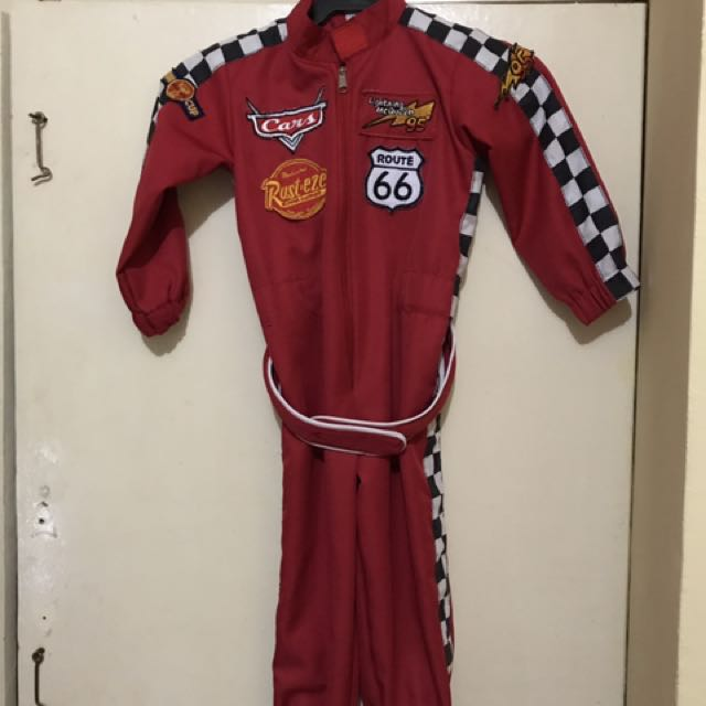 car racing costume 1-2yrs old