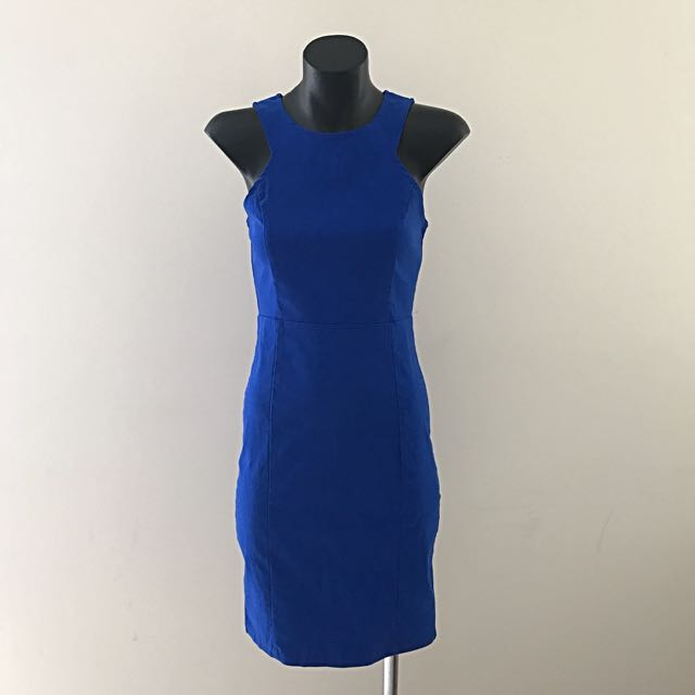 Caroline Morgan Dress - Royal Blue