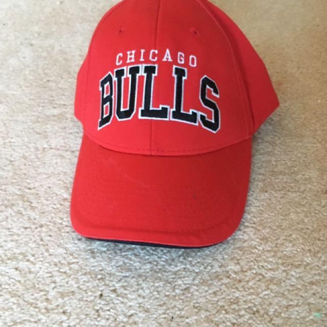 Chicago Bull Dad Cap Adjustable