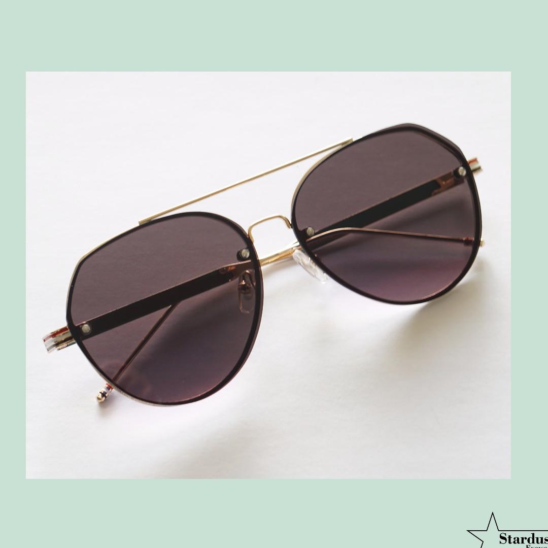 Clarky Black Kacamata Fashion ( Sunglasses )