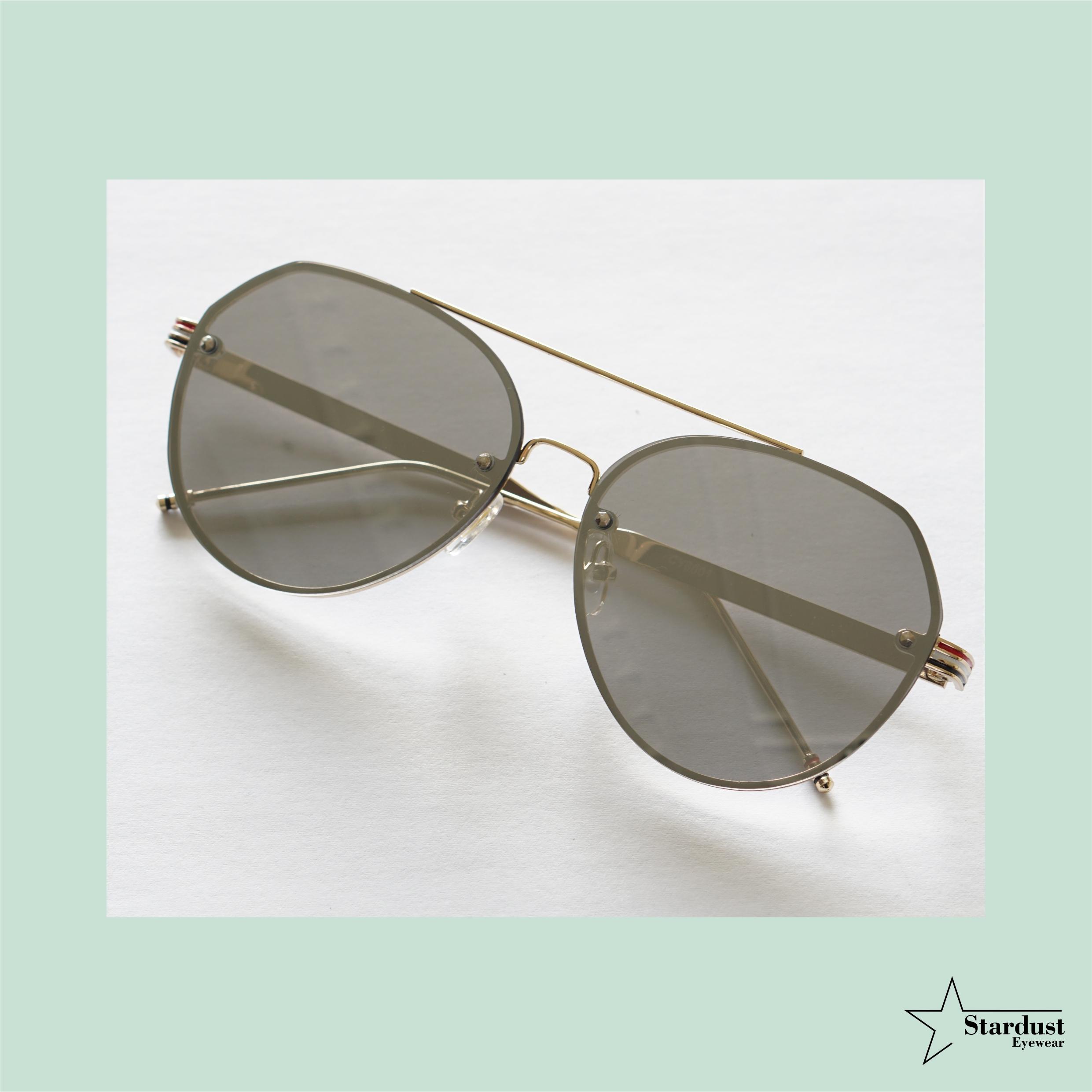 Clarky Silver Kacamata Fashion ( Sunglasses )