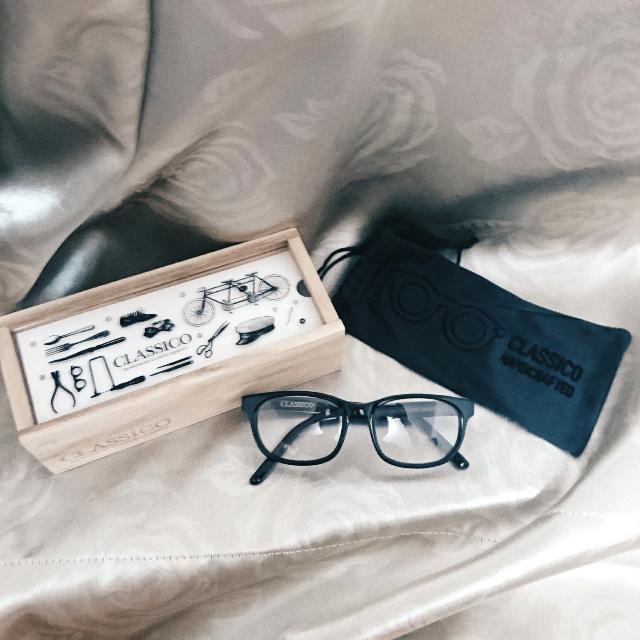 Classico 全新黑框眼鏡