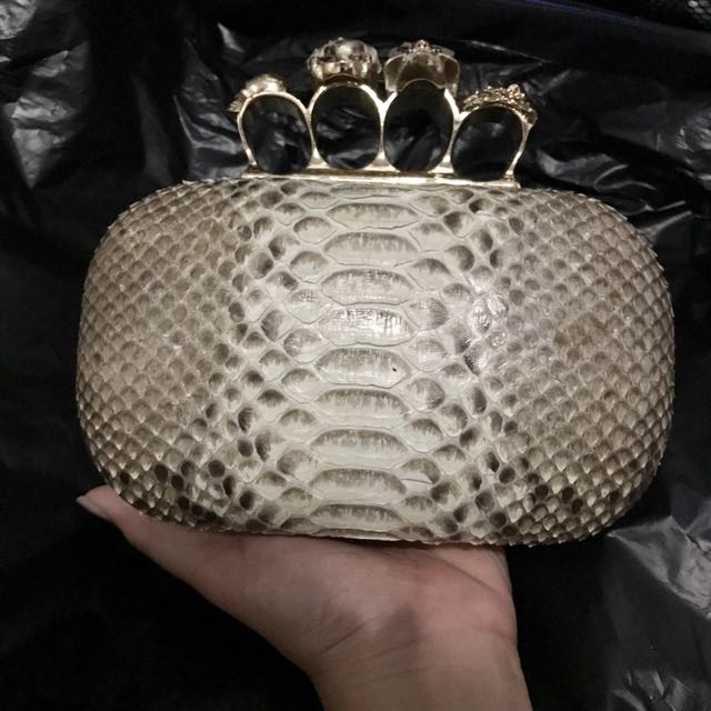 Clutch Alexander MC Python By SDx Bali
