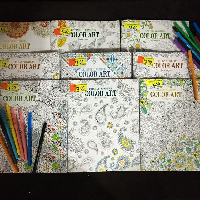 Coloring Books Mandala Color Art