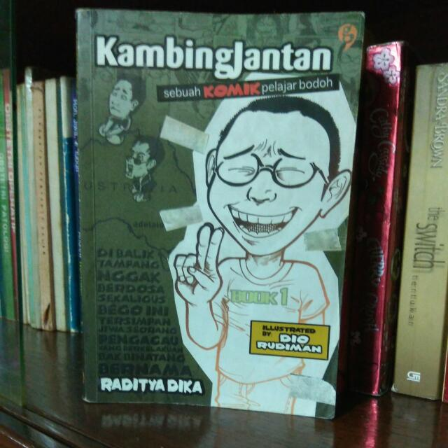 Comic Kambing Jantan