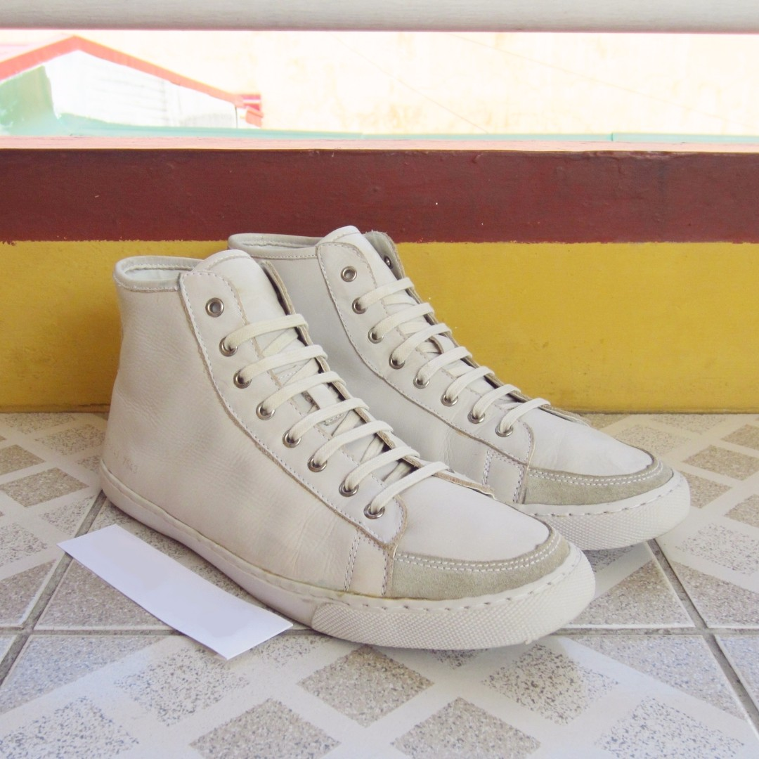 Common Projects x Evisu High Top Shoes