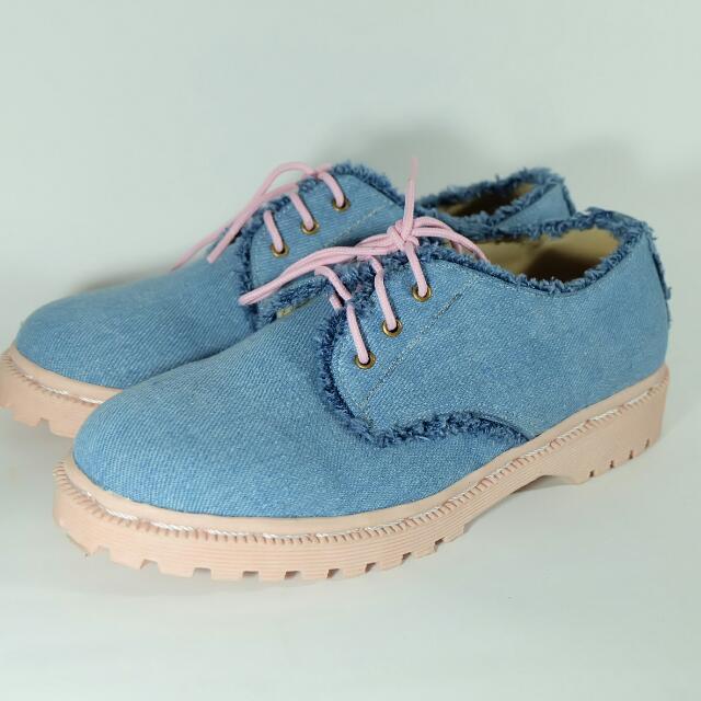 Denim Jeans Shoes