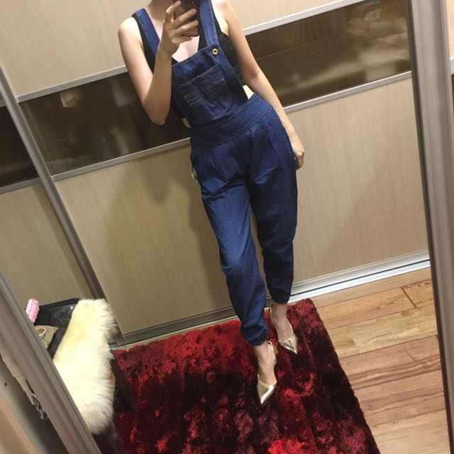 Denim Overall (exclude the top)