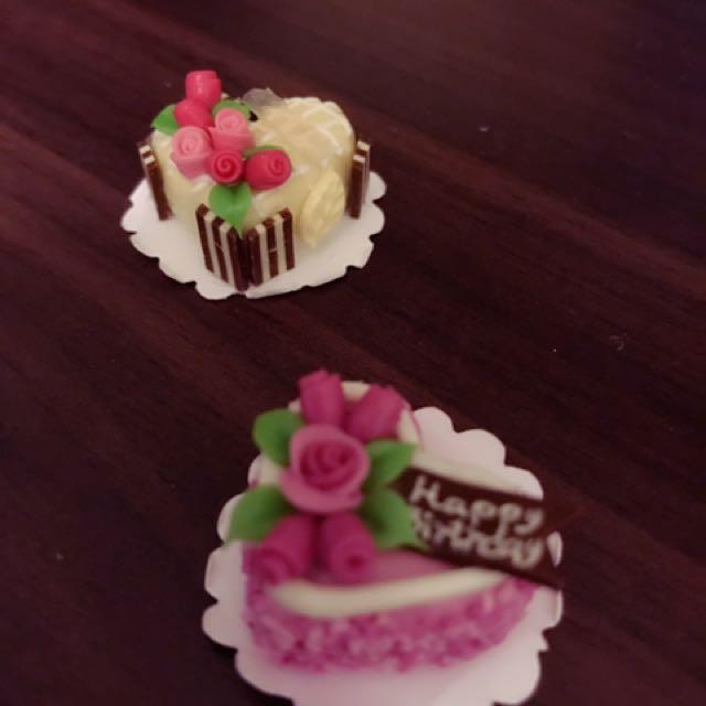 超級可愛迷你DIY蛋糕仔💕