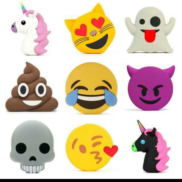 Emoji/Unicorn Power Banks ❤