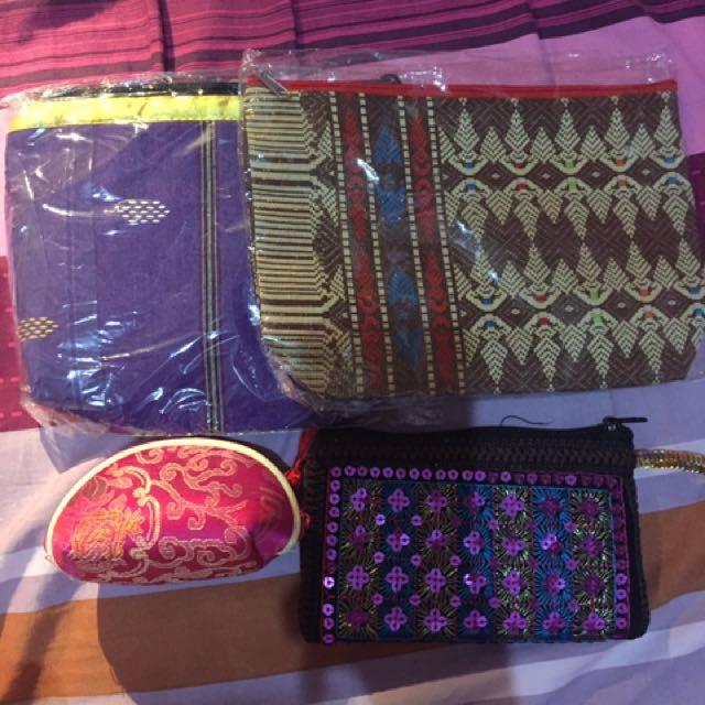 Ethnic Pouch & Wallet / Dompet Etnik