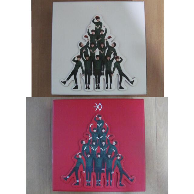 EXO - Miracles in December Albums (KR & CH ver.)
