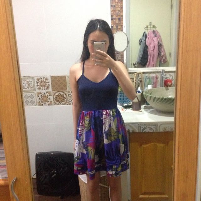 F21 Crcross Back Dress
