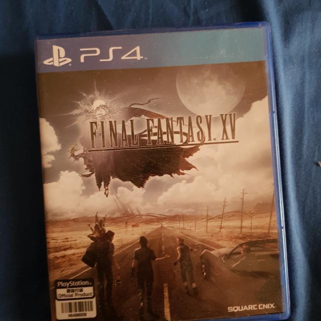 Final Fantasy XV PS4 BD