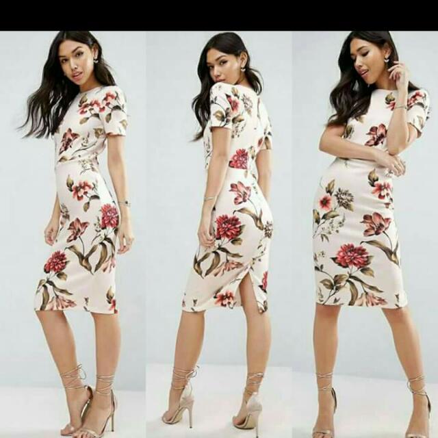 New!!! Floral Dress