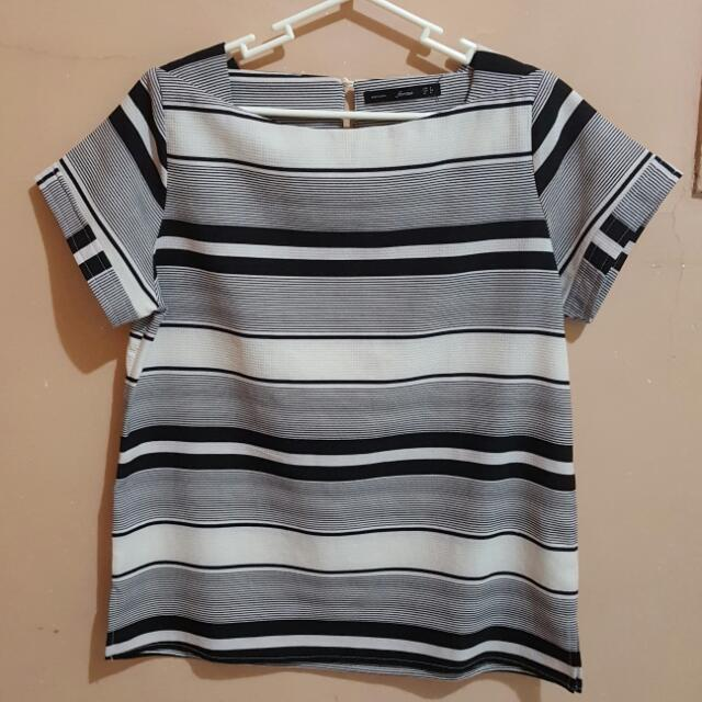 For Me Striped Top