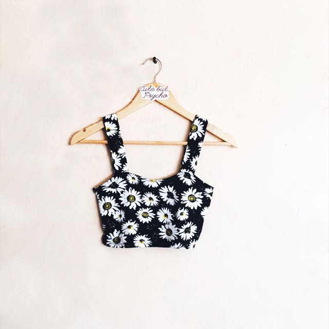 Forever 21 Daisy Cropped Top
