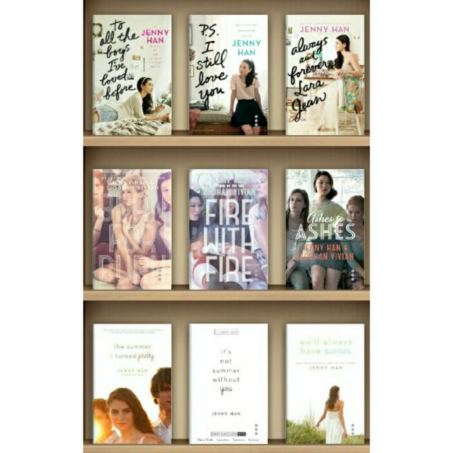FREE! JENNY HAN TRILOGY EBOOKS 💖