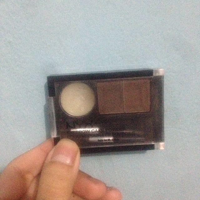 FREE ONGKIR : nyx eyebrow powder dark brown