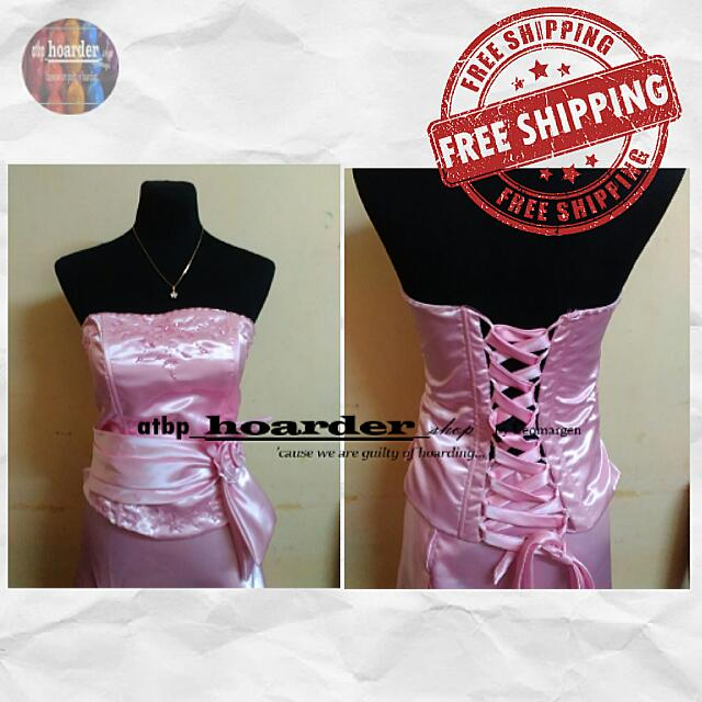 🚚Free Sf❗ Pink Prom Gown