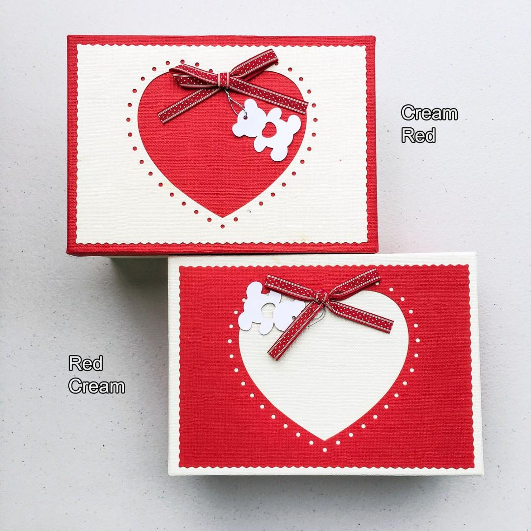 Gift Box 3in 1 Heart Bear