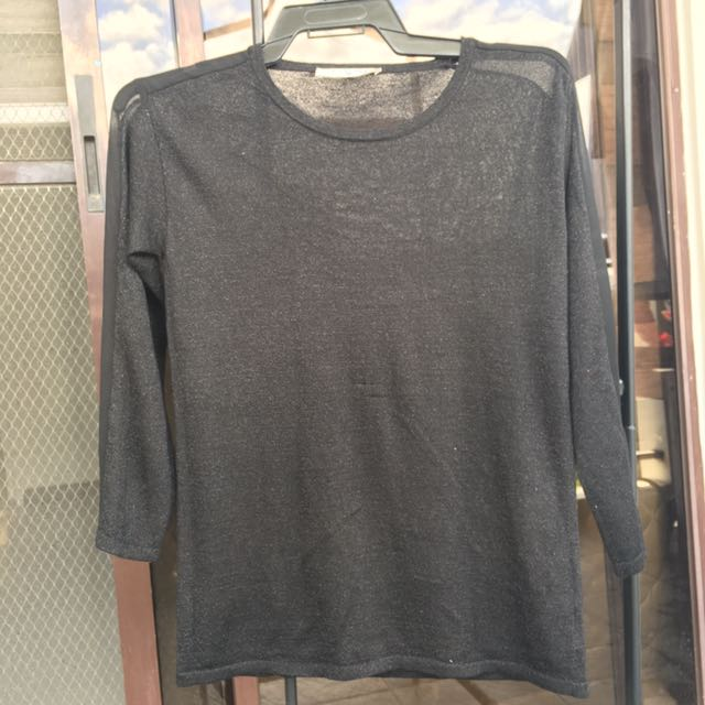 Giordano See-through long sleeves