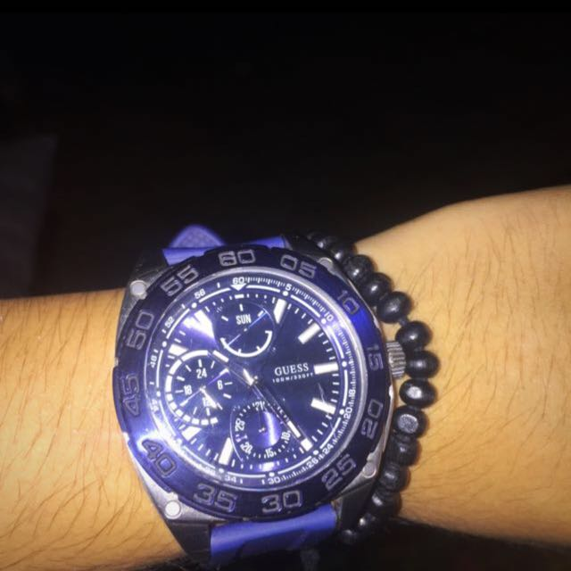 GUESS Blue watch edition 2015 rare item