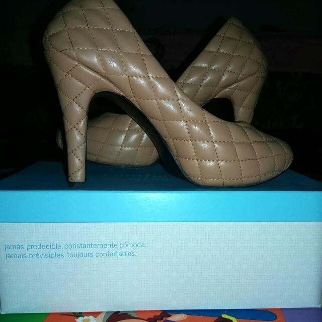 Heels Reno Martin (Art Beauty) Leather/Kulit