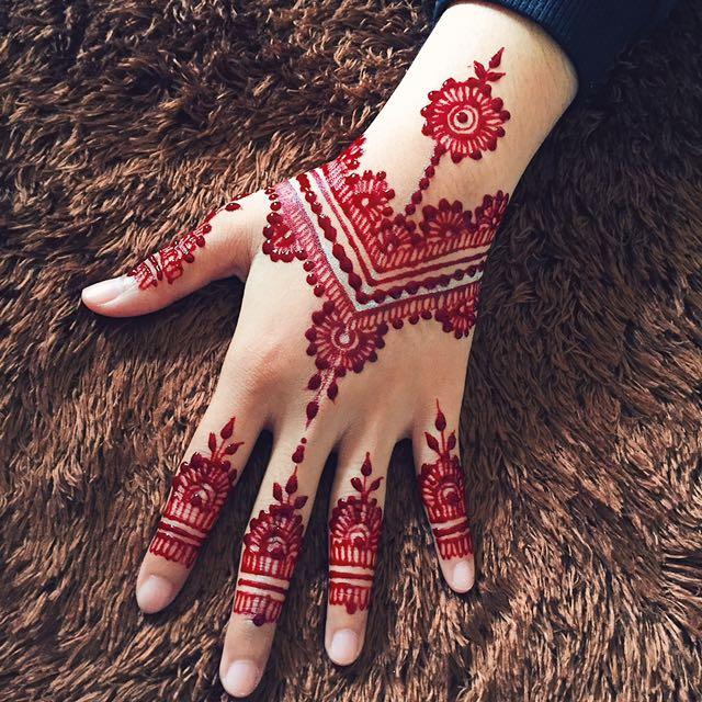 Henna Services Fesyen Wanita Pakaian Pengantin Di Carousell