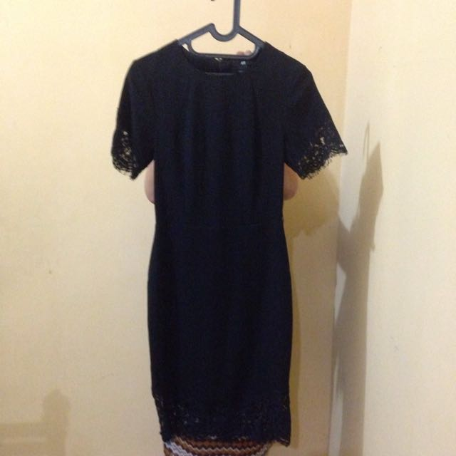 H&M Black Laces Dress