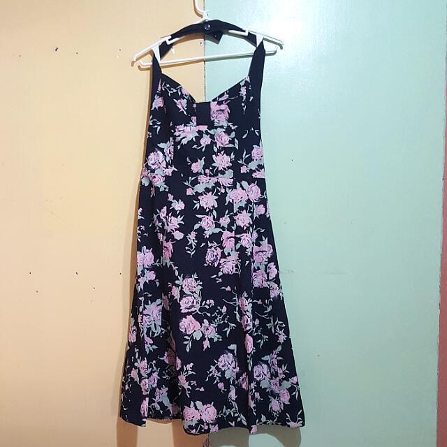 H&M Halter Sweetheart Dress