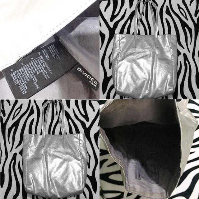 H&m Silver Bags