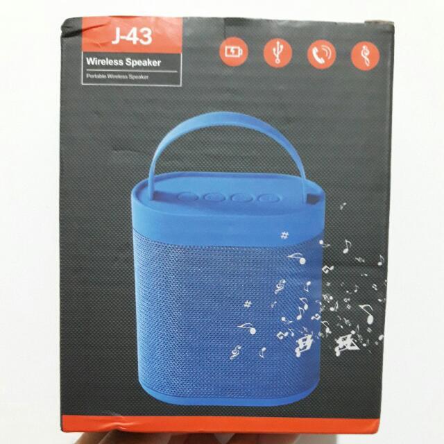 J-43 藍牙喇叭 全新 Bluetooth Speaker