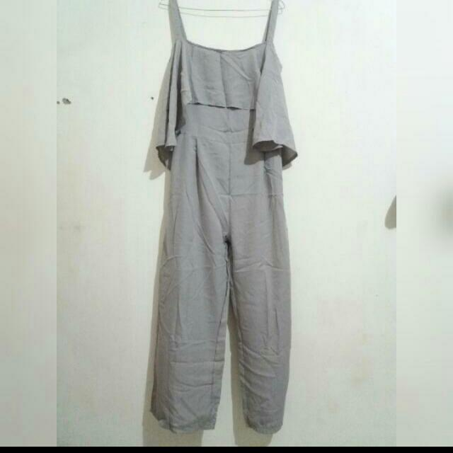 Jumsuit Grey (Reprice)