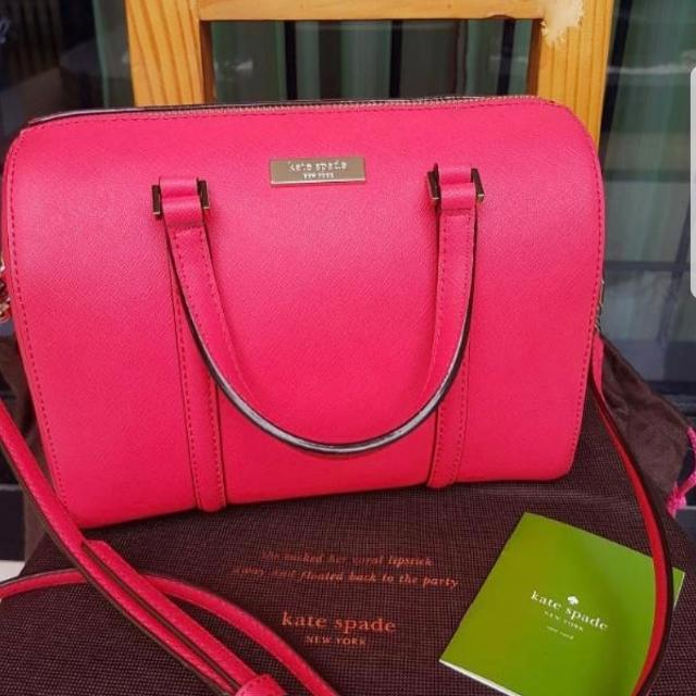 Kate Spade Mini Cassie Newbury Lane 100%