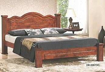 Katil Kayu Queen Size Model Db2287 Home Furniture On Carou